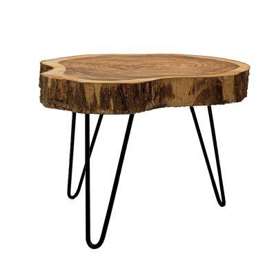 Log Coffee Table